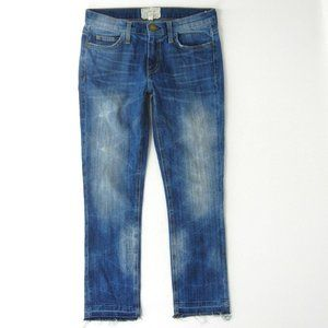 CURRENT ELLIOTT Cropped Straight Hartley Jeans 24